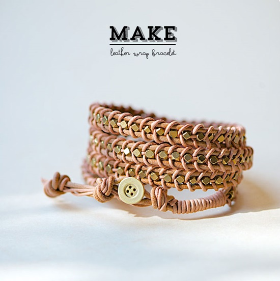 Leather Wrap Bracelet9-4