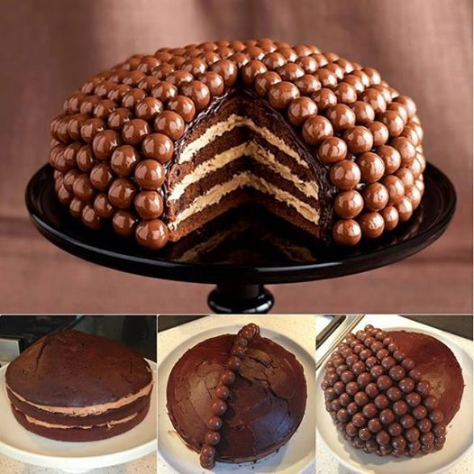 Malteser Cake Wonderful DIY Amazing Maltesers Chocolate cake