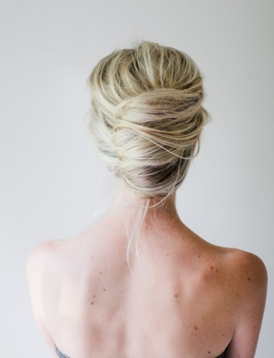Messy French twist updo1 Wonderful DIY Messy French Twist  Hairstyle