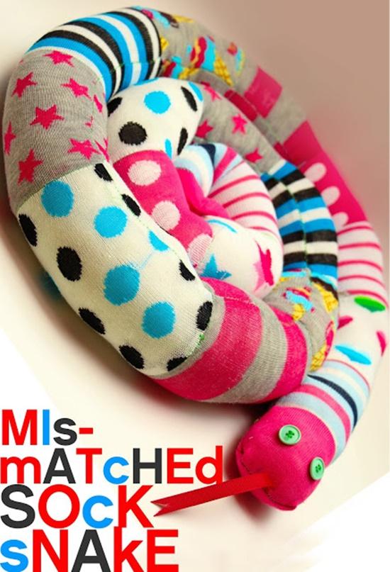 Mismatched Socks Snake9-5