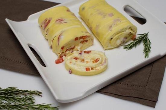 Omelette Roll 0 Wonderful DIY Delicious Omelette Roll