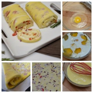 Wonderful DIY Delicious Omelette Roll