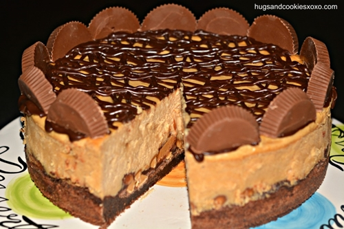 Peanut Butter Cup Cheesecake5