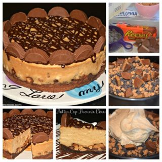Wonderful DIY Perfect Peanut Butter Cup Cheesecake