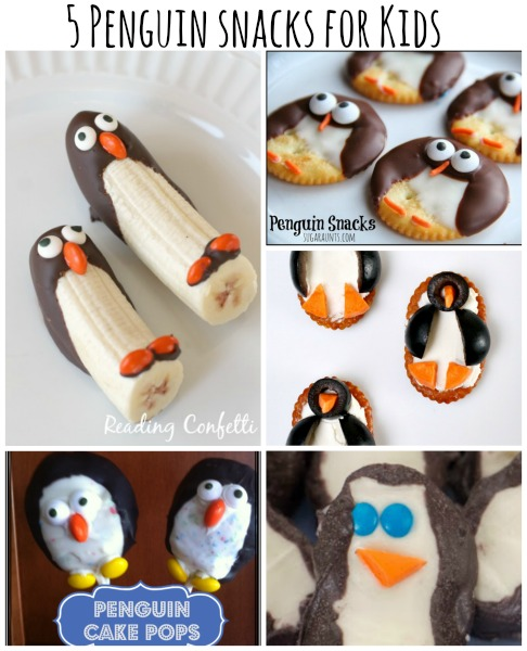 Penguin Snacks2 Wonderful DIY Cute Penguin Snacks