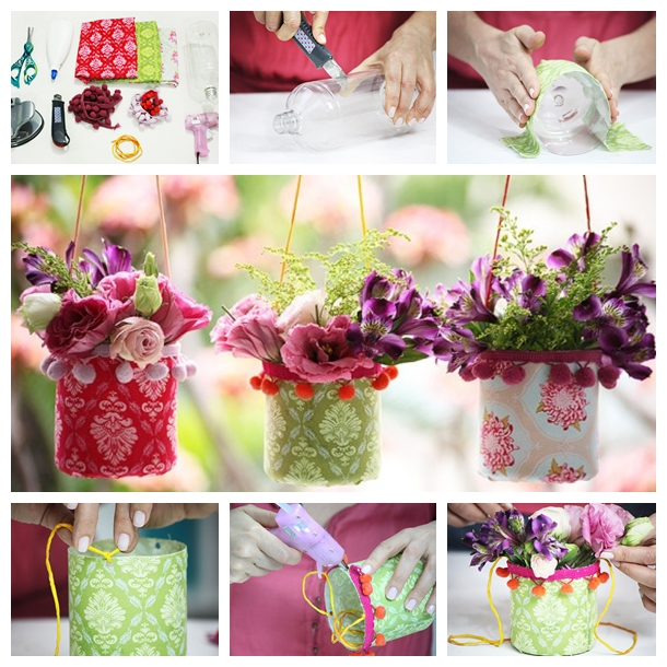 Plastic Bottle Vases F Wonderful DIY Pretty Hanging Vases From Recycle Bottle