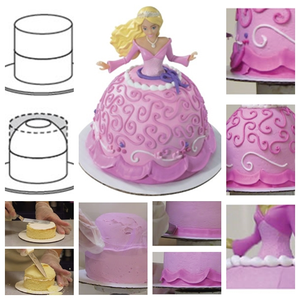 Easy Castle Birthday Cake Step By Step