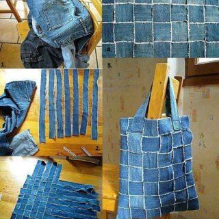 DIY & Crafts · Wonderful DIY New Handbag From Old Jeans