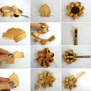 Wonderful DIY Pretty Flower Hairpin