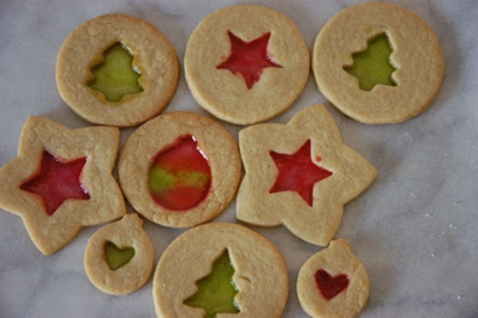 Stain Glass Sugar Cookies 1