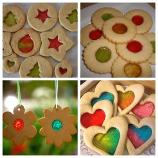 Wonderful DIY Stain Glass Sugar Cookies