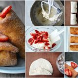 Wonderful DIY Strawberry Cheesecake Chimichangas