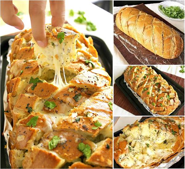 Stuffed Cheesy Bread Wonderful DIY Delicious Stuffed Cheesy Bread