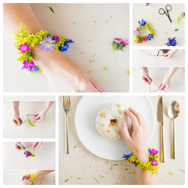 Summer Fresh Flowers BraceletF