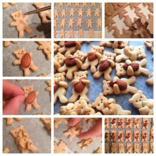 Super Sweet Teddy Bear Cookies to Bake at Home