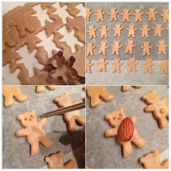 Teddy Bear Cookies1 Super Sweet Teddy Bear Cookies to Bake at Home