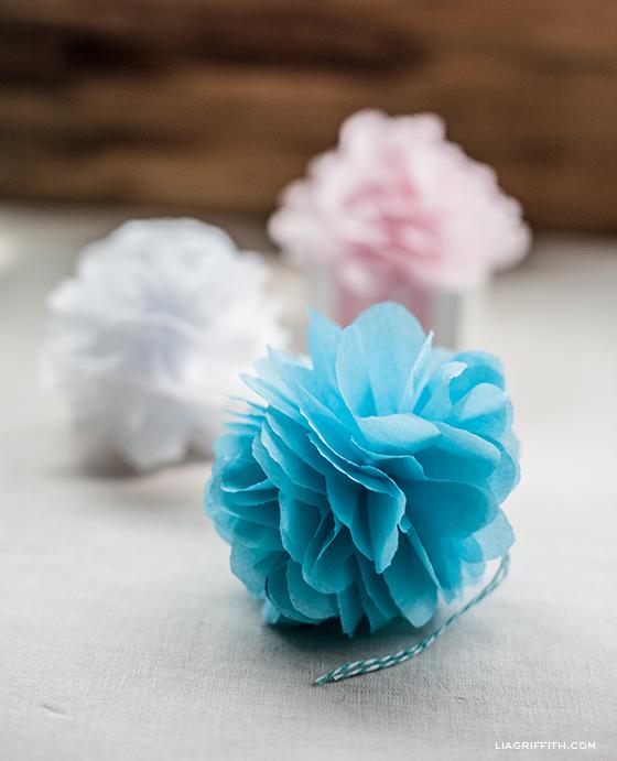 Tissue Paper Pom poms  2