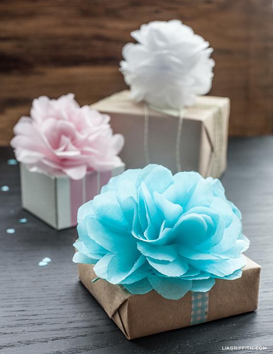 Tissue Paper Pom poms  3
