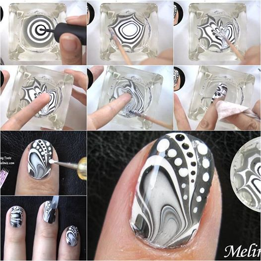 Water Marble Nail Art Wonderful DIY Amazing Water Marble Nails