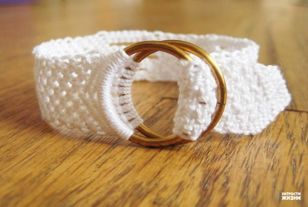 White Cotton Macrame Bracelet7