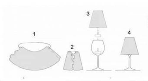 wonderful diy fancy wine glass candle lampshades