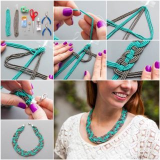 Wonderful DIY Unique Woven Bead Necklace