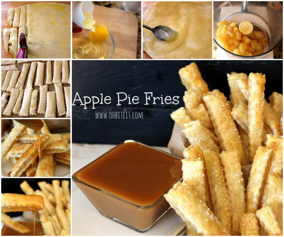 apple pie fries Wonderful DIY Apple Pie Fries