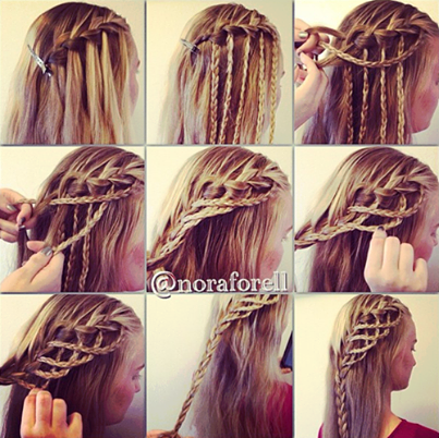 braided hairstyle Wonderful DIY Braided Heart Hairstyle