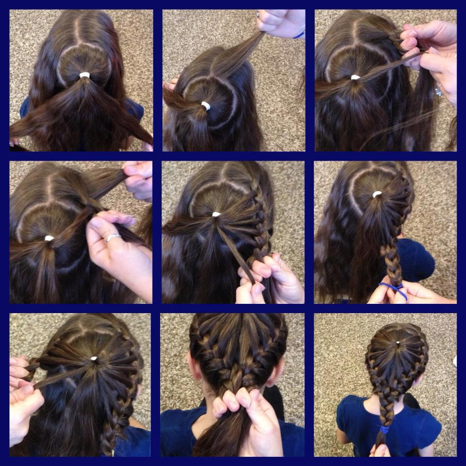 braided heart hairstyle Wonderful DIY Braided Heart Hairstyle