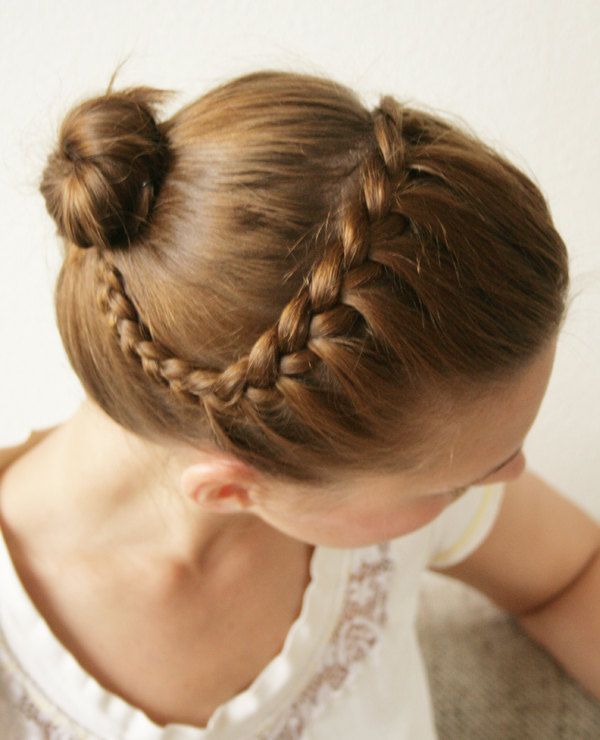braided3hairdo3 Wonderful DIY Pretty Braided Hairdo