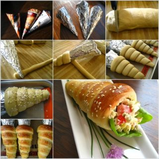 Wonderful DIY Yummy Bread Cones