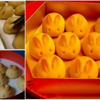 Wonderful DIY Sweet Bunny Bread