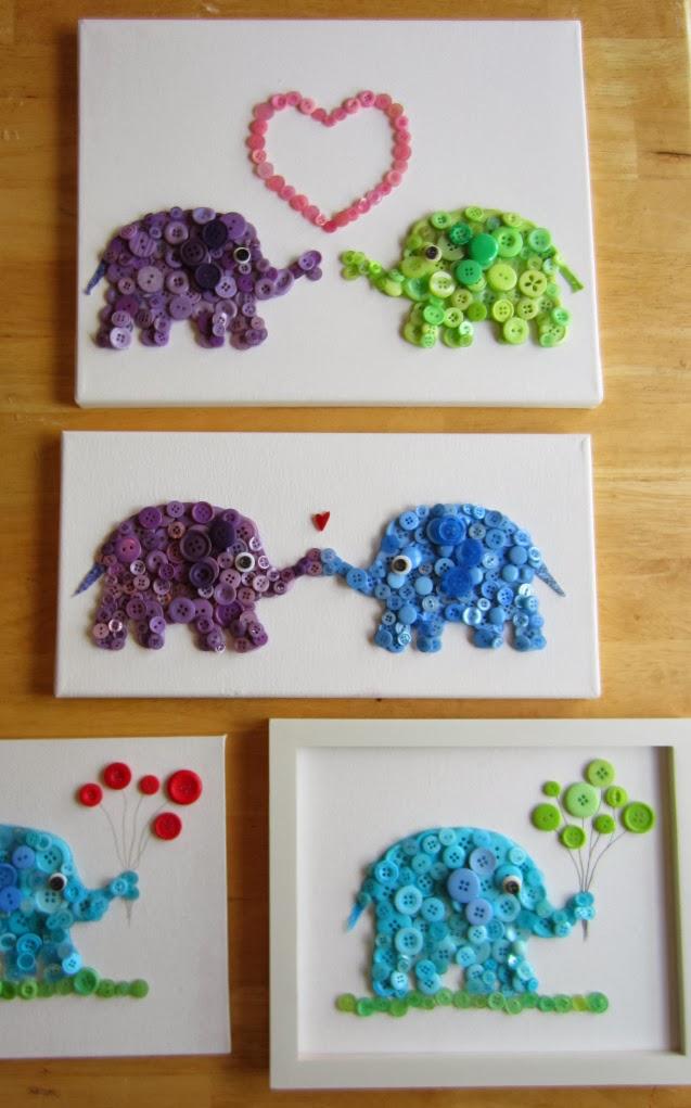 button-elephant-wall-art7