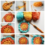 Wonderul DIY Crochet  Japanese Flower
