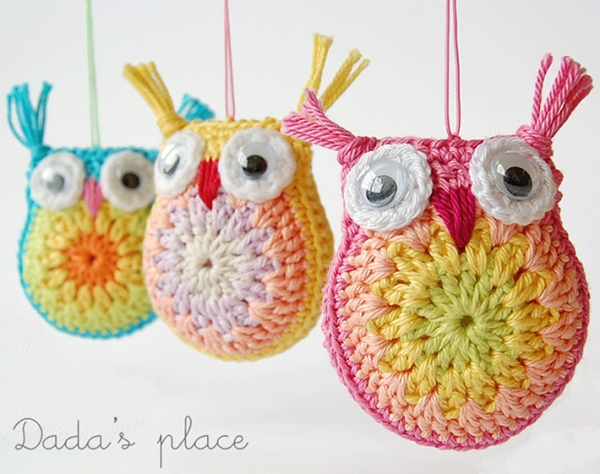 crochet owl 1. Wonderful DIY Little Crochet Owl