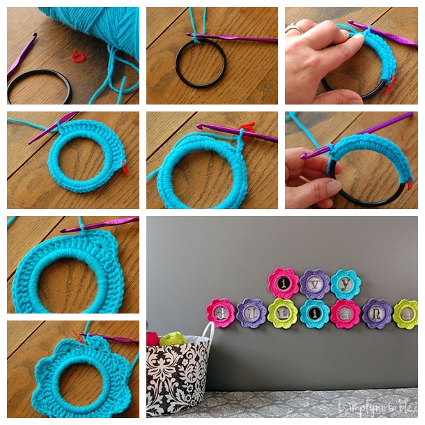 Crazy Cute Diy Crochet Photo Frame