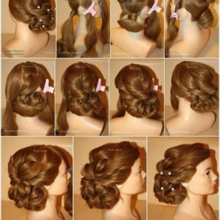 Wonderful DIY Elegant Evening Hairstyle