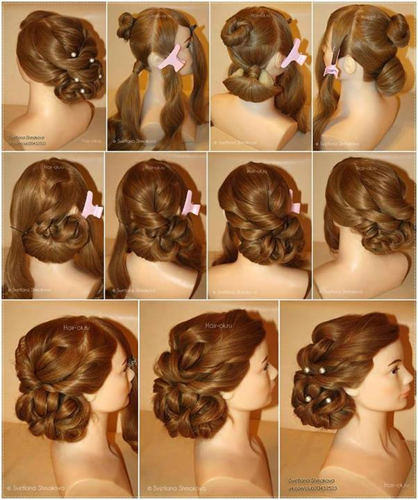 Wonderful diy elegant evening hairstyle solutioingenieria Gallery