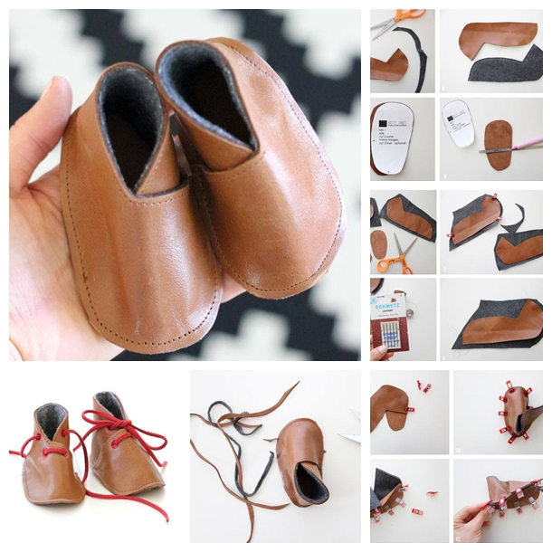 handmade baby shoes F