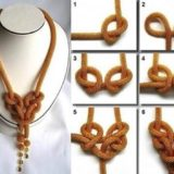 Wonderful DIY Knotting A Necklace Quickly