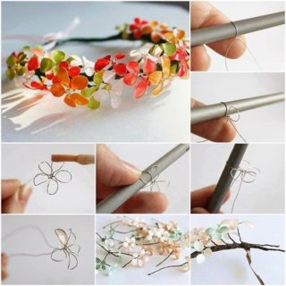 Wonderful DIY Nail Polish Flowers