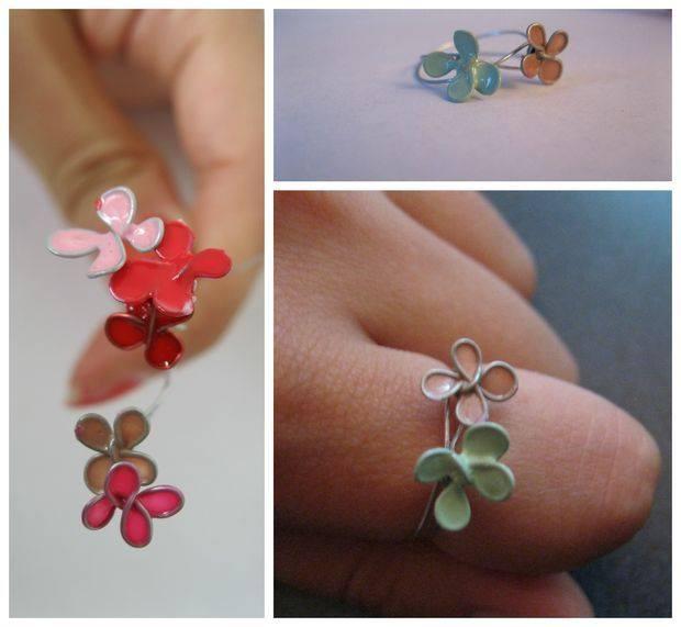 nail poslish flower6