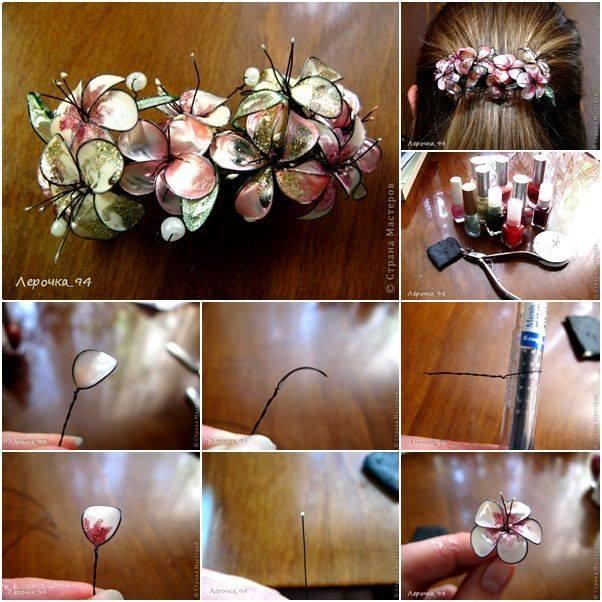 nail poslish flower7