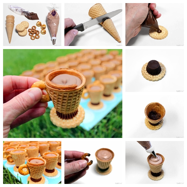 no bake edible teacups F Wonderful DIY Sweet No bake Teacup Treats