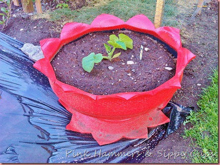 old tire flower planter19-1