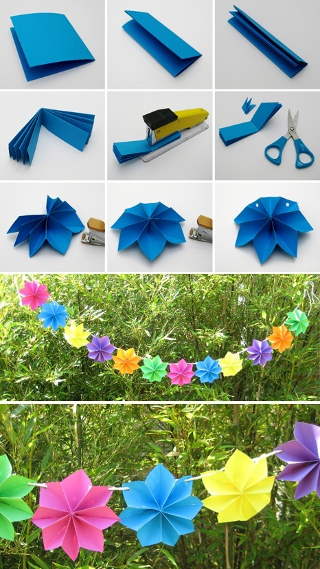 Wonderful DIY Paper Decoration For Party