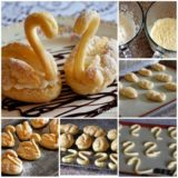 Wonderful DIY Lovely Cream Puff Swans