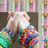 Simple DIY Rubber Band Bracelets – No Loom Required