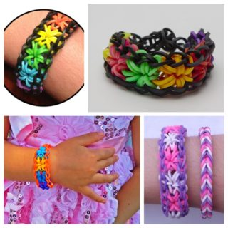 Wonderful DIY Rainbow Loom Starburst Bracelet