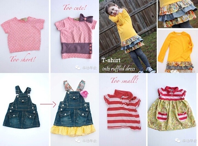 reuse little girls colthes F